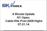 BK VIDEO – 4 Minute Update NY Open- Cable Hits Post 2008 Highs 07.01.14