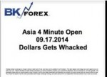 BK VIDEO – Asia 4 Minute Open 09.17.2014 Dollars Get Whacked