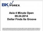 BK VIDEO Asia 4 Minute Open 09.24.2014 Dollar Finds Its Groove