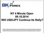 BK VIDEO – NY 4 Minute Open 09.18.2014 Will USD/JPY Continue Its Rally?