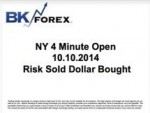 BK VIDEO NY 4 Minute Open 10.10.2014 Risk Sold Dollar Bought