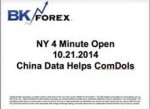 BK VIDEO – NY 4 Minute Open 10.21.2014 China Data Helps ComDols