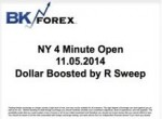 BK VIDEO NY 4 Minute Open 11.05.2014 Dollar Boosted by R Sweep