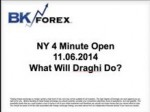 BK VIDEO NY 4 Minute Open 11.06.2014 What Will Draghi Do?