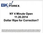 BK VIDEO NY 4 Minute Open 11.20.2014 Dollar Ripe for Correction?
