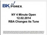 BK VIDEO NY 4 Minute Open 12.02.2014 RBA Changes its Tune