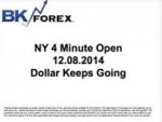 BK VIDEO NY 4 Minute Open 12.08.2014 Dollar Keeps Going