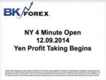 BK VIDEO NY 4 Minute Open 12.09.2014 Yen Profit Taking Begins