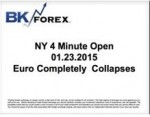 BK VIDEO NY 4 Minute Open 01.23.2015 Euro Completely Collapses