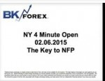 BK VIDEO NY 4 Minute Open  02.06.2015 The Key to NFP