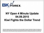 BK VIDEO NY Open 4 Minute Update 04.09.2015 Kiwi Fights the Dollar Trend