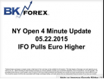 BK VIDEO NY Open 4 Minute Update 05.22.2015 IFO Pulls Euro Higher