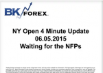BK VIDEO – NY Open 4 Minute Update 06.05.2015 Waiting for the NFPs