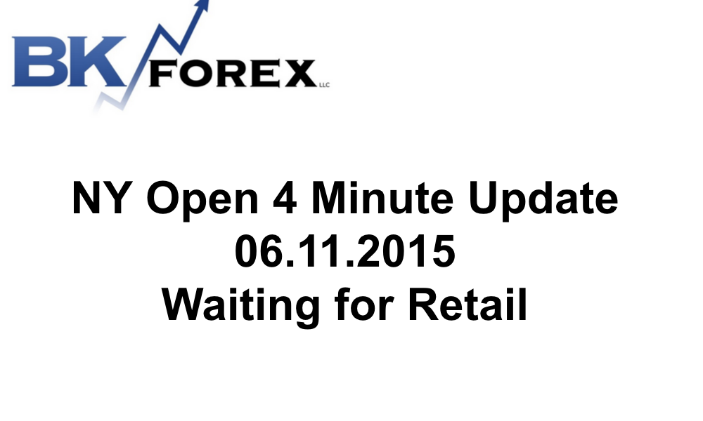 BK VIDEO NY Open 4 Minute Update 06.11.2015 Waiting for Retail