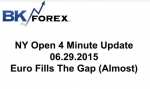 BK VIDEO NY Open 4 Minute Update 06.29.2015 Euro Fills The Gap (Almost)