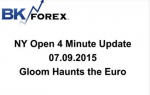 BK VIDEO NY Open 4 Minute Update 07.09.2015 Gloom Haunts the Euro