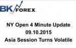 BK VIDEO NY Open 4 Minute Update 09.10.2015 Asia Session Turns Volatile