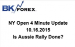 BK VIDEO NY Open 4 Minute Update 10.16.2015 Is Aussie Rally Done?