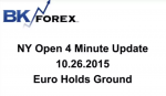 BK VIDEO NY Open 4 Minute Update 10.26.2015 Euro Holds Ground