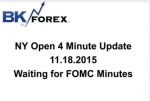 BK VIDEO NY Open 4 Minute Update 11.18.2015 Waiting for FOMC Minutes