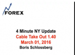 4 Minute NY Update Cable Take Out 1.40 March 01, 2016
