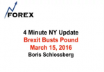 4 Minute NY Update Brexit Busts Pound March 15, 2016