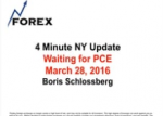 4 Minute NY Update Waiting for PCE March 28, 2016