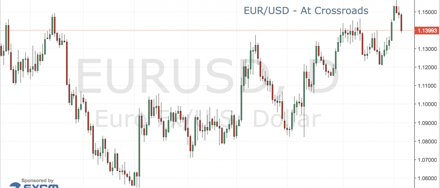 EUR/USD – At Crossroads