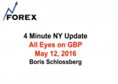 4 Minute NY Update All Eyes on GBP May 12, 2016