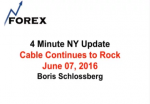 4 Minute NY Update Cable Continues to Rock June 07, 2016