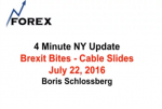 4 Minute NY Update Brexit Bites – Cable Slides July 22, 2016