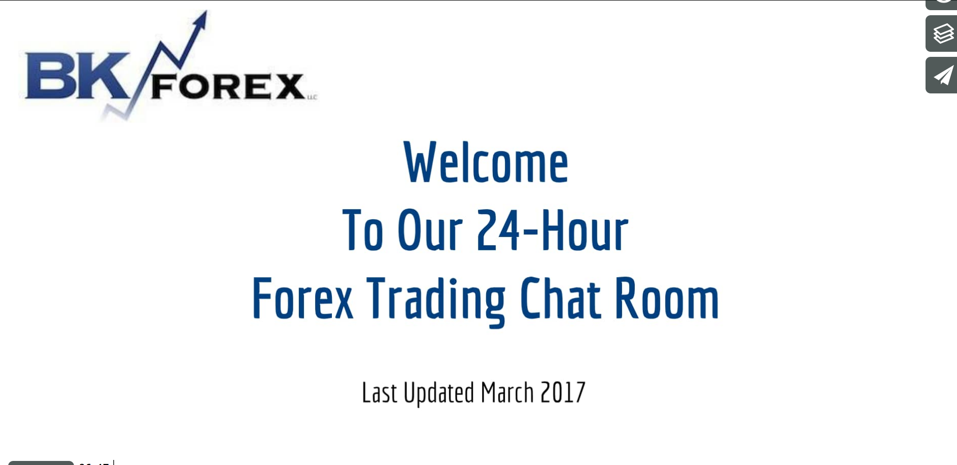 Welcome to BKForex